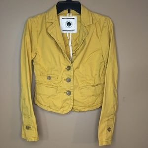 DAUGHTERS OF THE LIBERATION Mustard Jacket 2